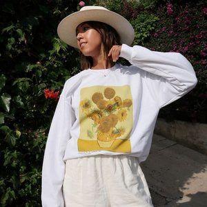 UO Van Gogh Sweatshirt/ Size M